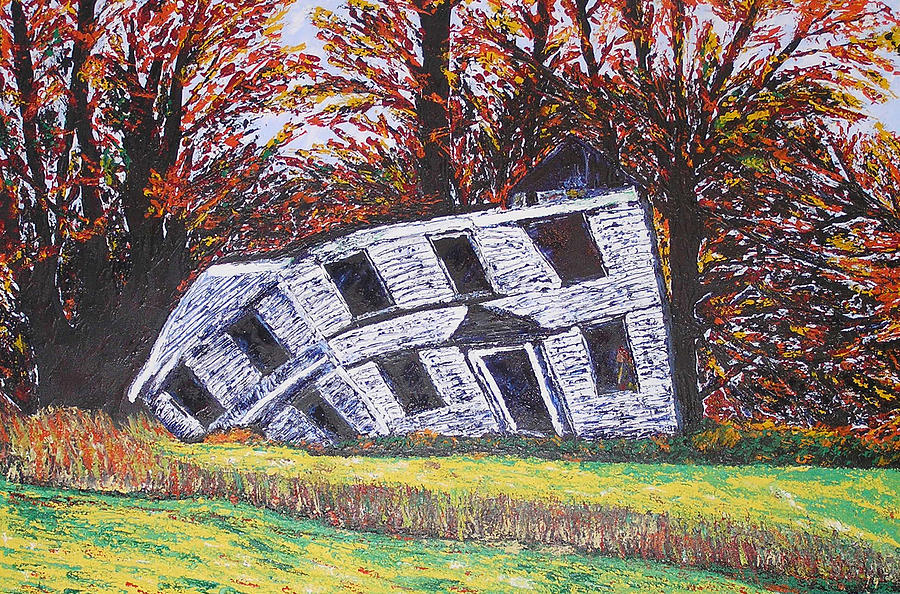 House Print - Fallen Beauty by Ricklene Wren