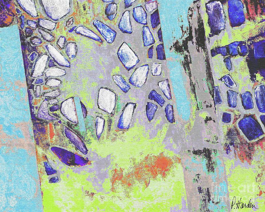 Fallen Fresco 3 by Pamela Iris Harden