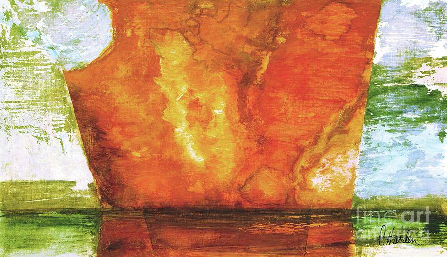 Fallen Fresco 6 by Pamela Iris Harden