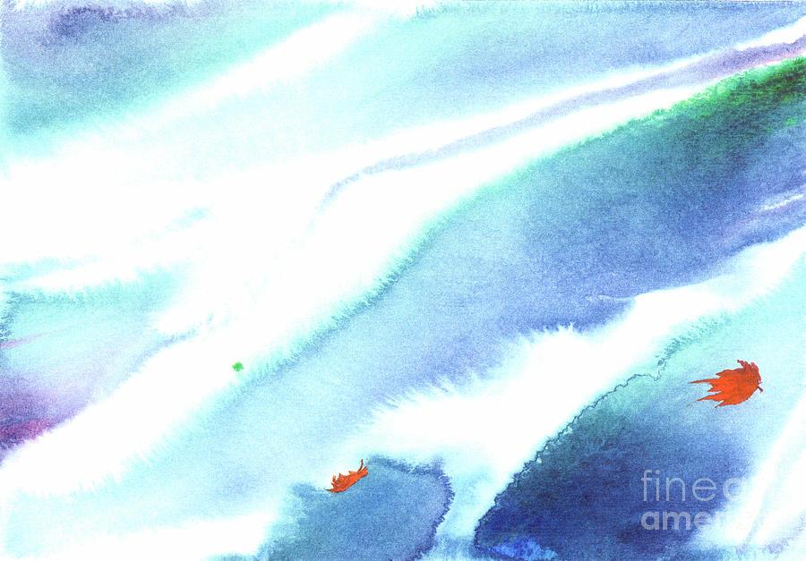 Fallen Leaves Painting by Mui-Joo Wee