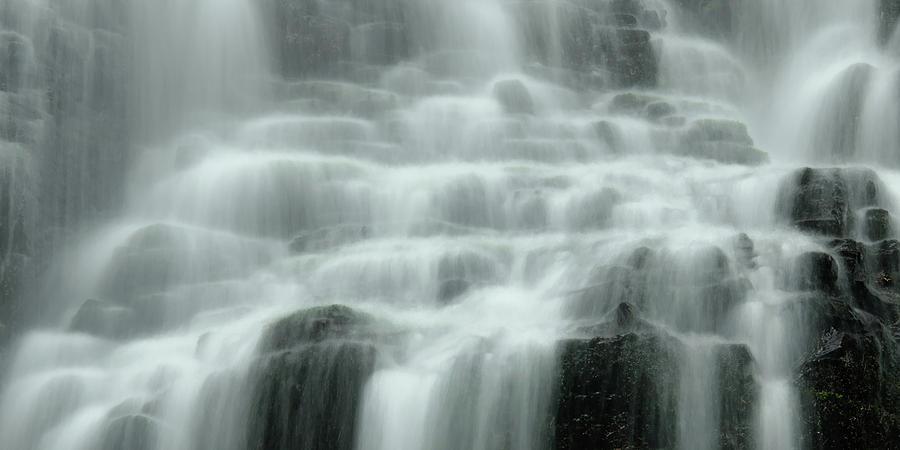 Fairy Falls Photograph - Falling by Don Schwartz