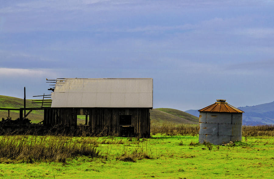 Falling Down Barn by Bruce Bottomley
