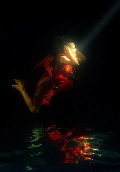 Underwater Photograph - Falling In Love by Libor Spacek