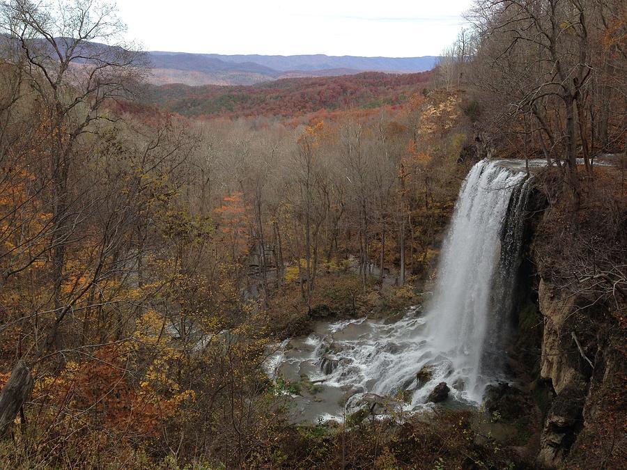 Falling Spring Falls, VA by Francis Chester