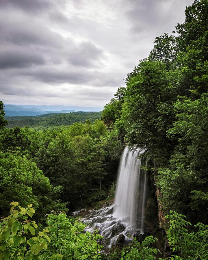 Falling Springs Falls Photograph