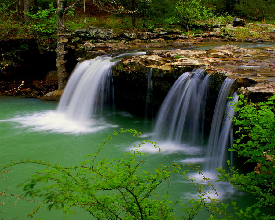 Waterfalls Photograph - Falling Water Falls by Marty Koch