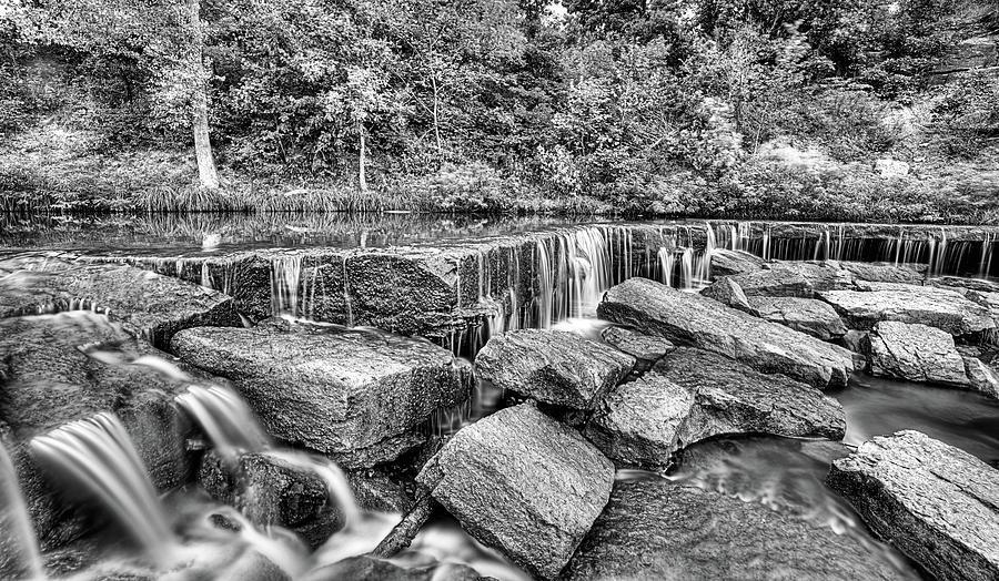 Pillsbury Crossing Photograph - Falling Waters On Deep Creek by JC Findley