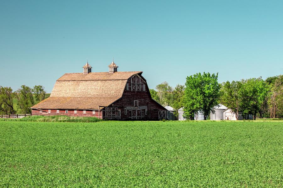 Farm Photograph - Fallon County Farm by Todd Klassy