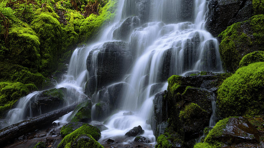 Falls Photograph - Falls by Chad Dutson