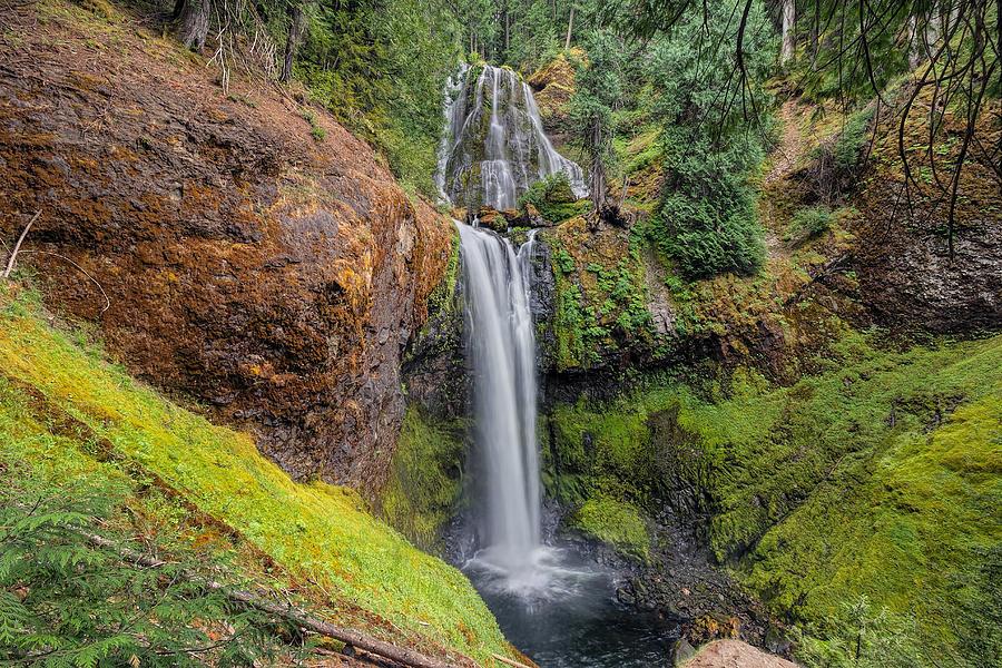 Falls Creek Falls Photograph - Falls Creek Falls by David Gn