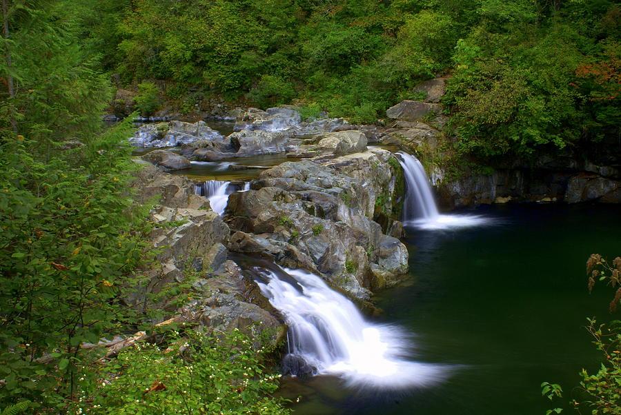 Waterfall Photograph - Falls Falls by Marty Koch