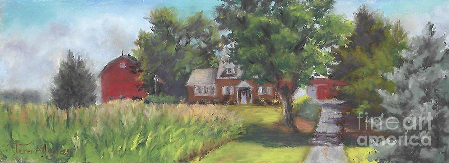 Family Farm Painting by Terri  Meyer