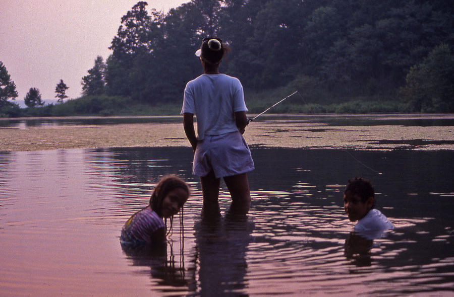 Tennessee Photograph - Family Fishing by Randy Muir