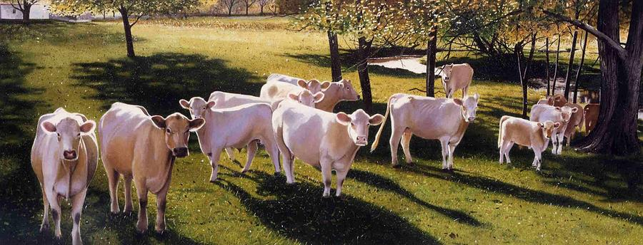 Landscape Painting - Family Portrait by Denny Bond