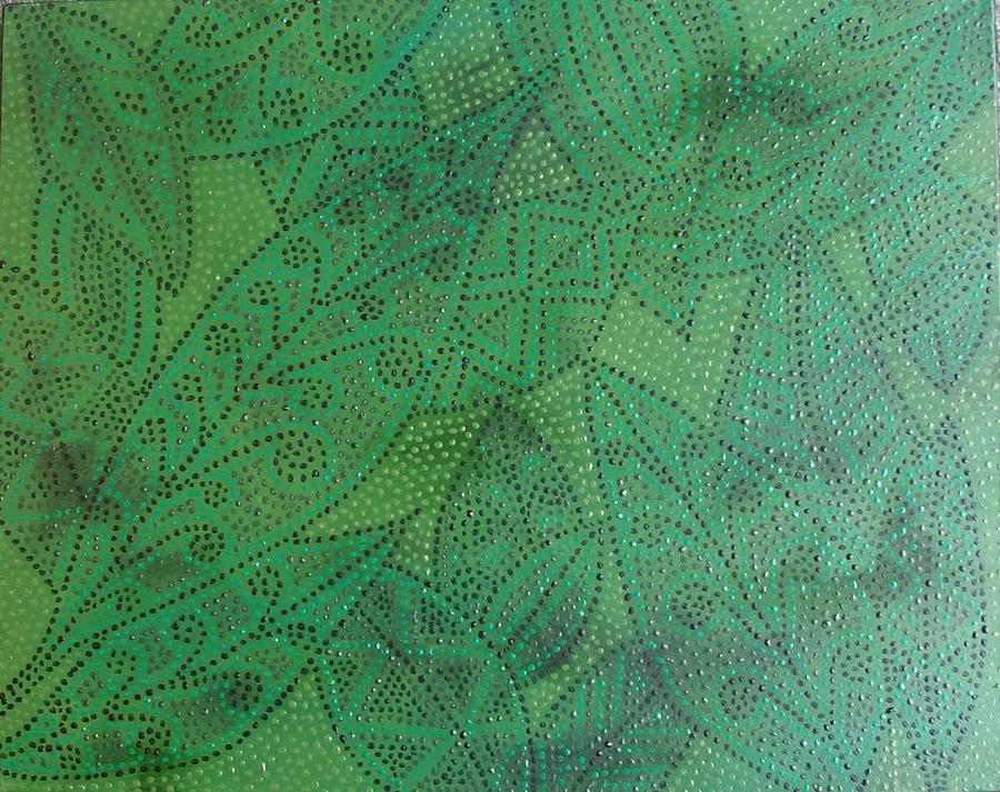 Acrylic Painting - Family Tree by Sophia Elise