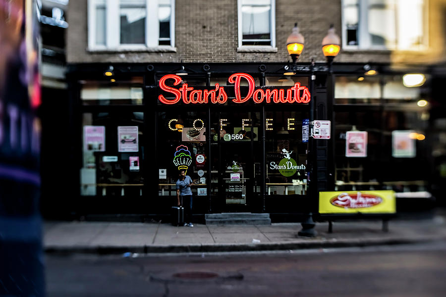 Donuts Photograph - Famous Chicago Donut Shop by Sven Brogren