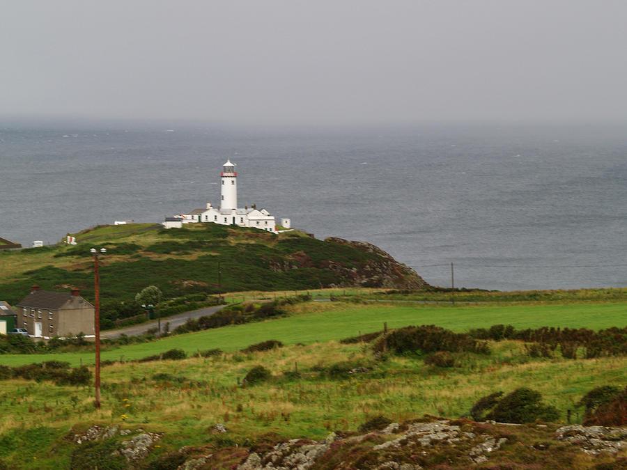 Headland Photograph - Fanad Head Lighthouse by Steve Watson
