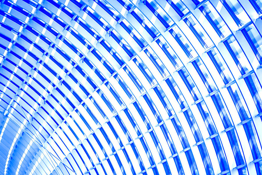 Abstract Photograph - Fancy Roof 1 by Jijo George