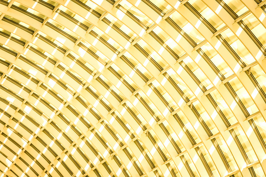 Abstract Photograph - Fancy Roof 4 by Jijo George