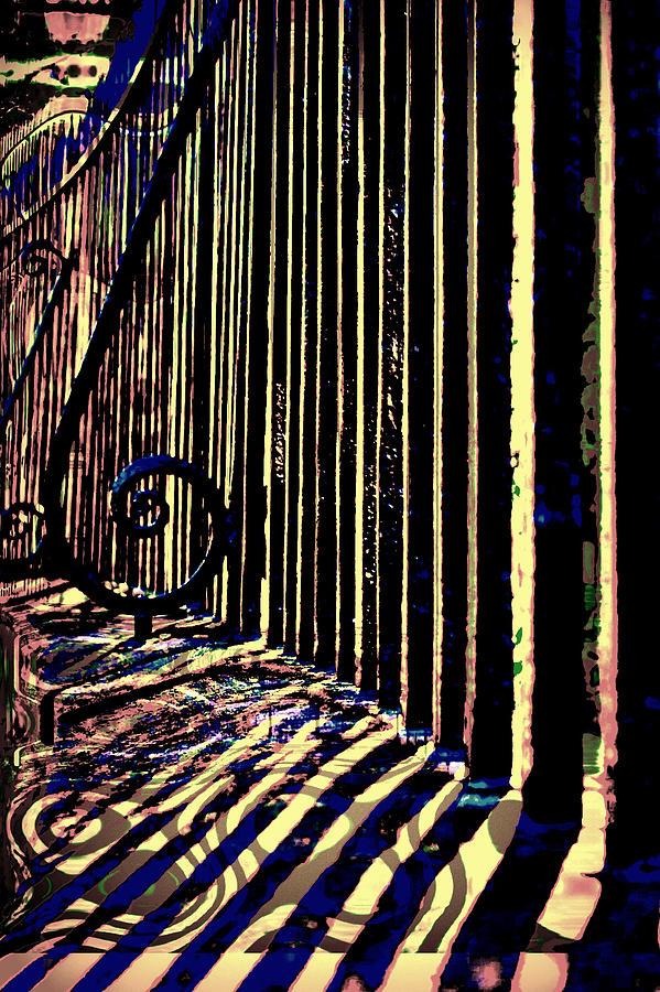 Iron Photograph - Fancy Shadows by Jill Tennison