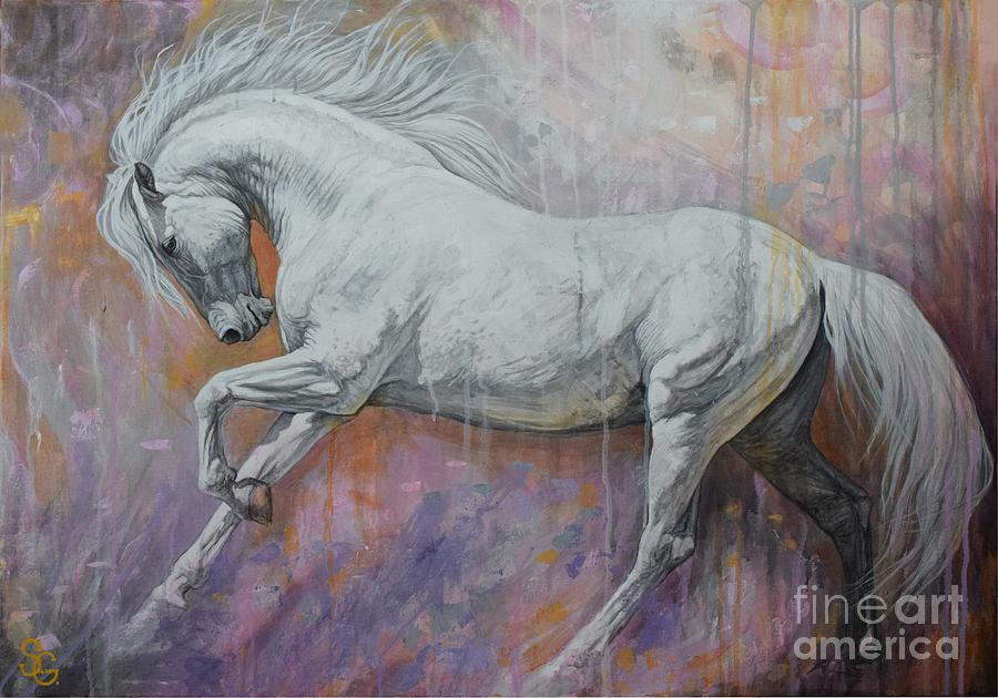 Fantasia painting by silvana gabudean dobre Fine art america