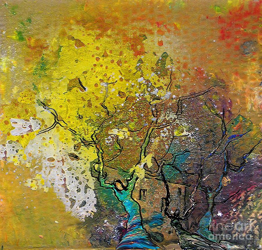 Miki Painting - Fantaspray 13 1 by Miki De Goodaboom