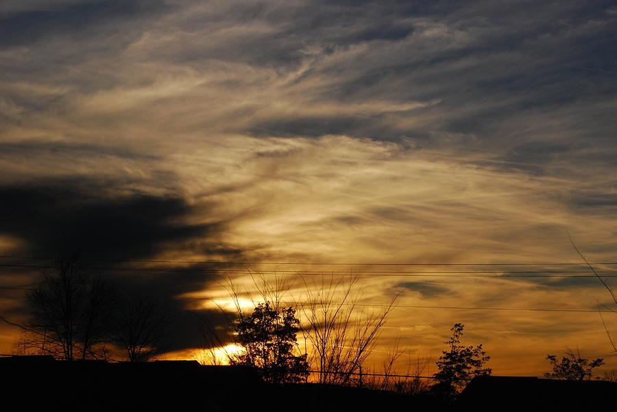 Sunset Photograph - Fantastic Sunet by Wanda Jesfield