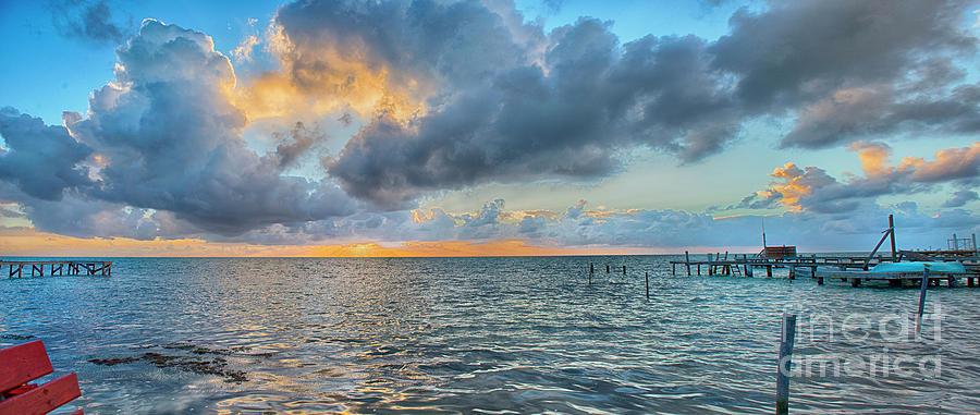 Fantastic Sunrise Panorama Photograph