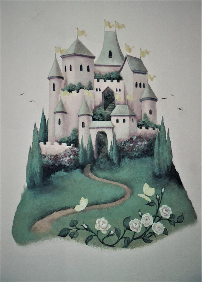 Fantasy Castle by Suzn Smith