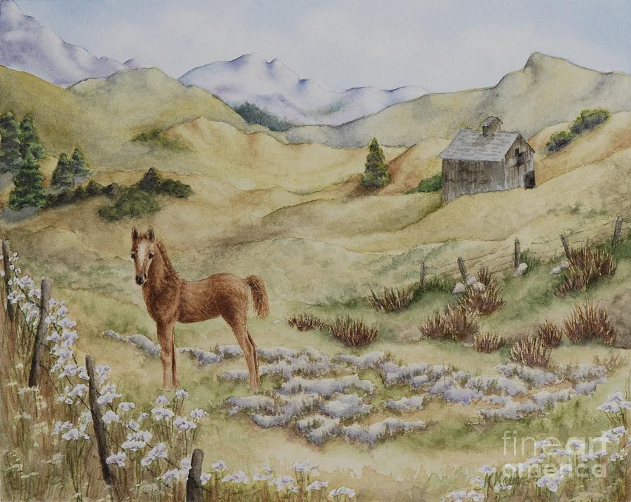 Colorado Painting - Fantasy Field by Kathleen Keller