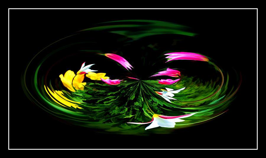 Floral Abstract Photograph - Fantasy Garden by Robert  McCord