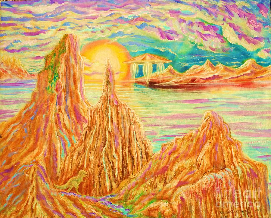 Fantasy Painting - Fantasy Landscape by Kean Butterfield