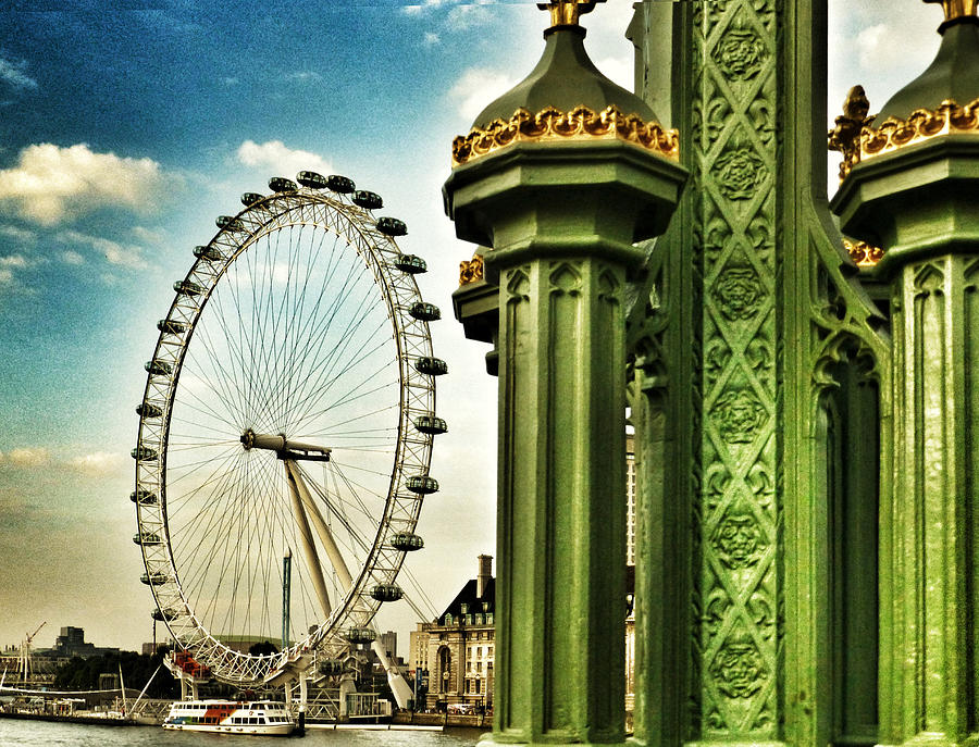 London Eye Photograph - Fantasy London by Connie Handscomb