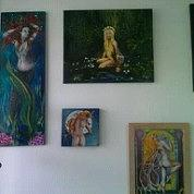 Fantasy Show Painting by Korri Myers