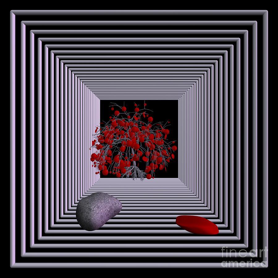 3d Digital Art - Far Away by Issabild -