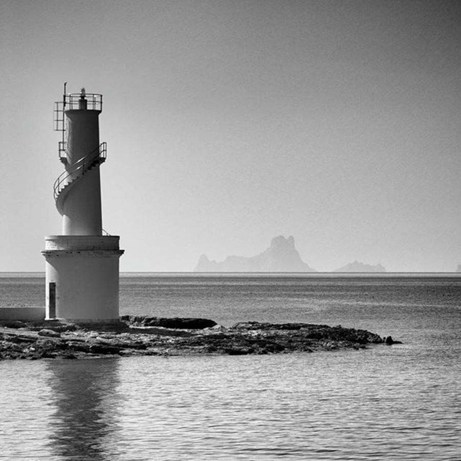 Balearics Photograph - Far De La Savina Lighthouse, Formentera by John Edwards