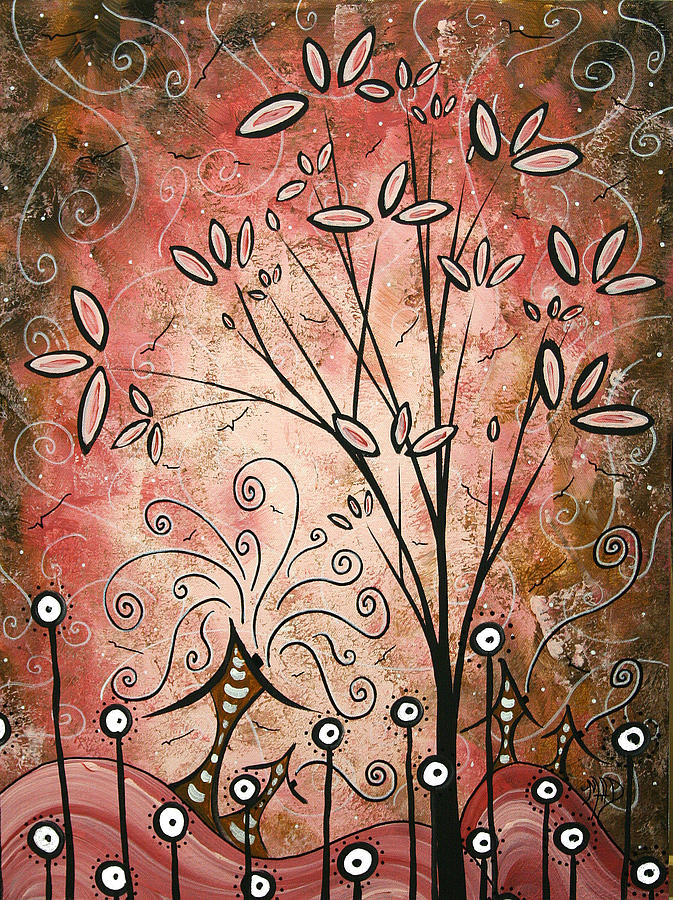 Original Painting - Far Far Away By Madart by Megan Duncanson