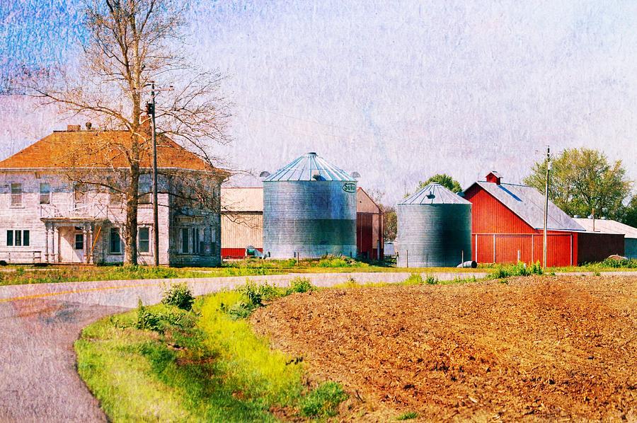 Farm Around The Corner Photograph by Kim Blaylock