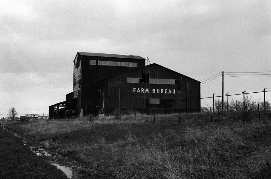 Farm Photograph - Farm Bureau Kalamazoo Michigan 1975 by Wayne Higgs