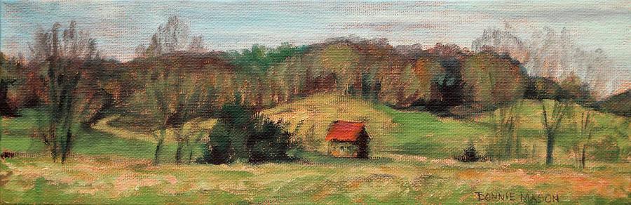 Farms Painting - Farm Country by Bonnie Mason