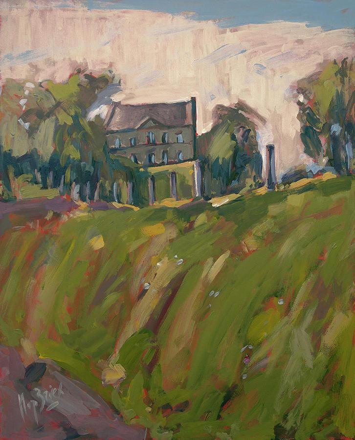 Farm Estate Zonneberg Painting by Nop Briex