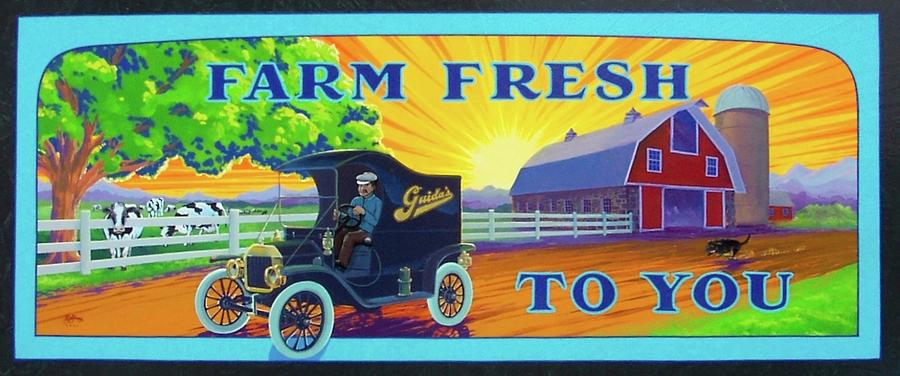 Farm Fresh To You  by Alan Johnson