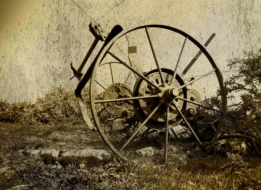 Machinery Photograph - Farm Machinery by Gareth Davies