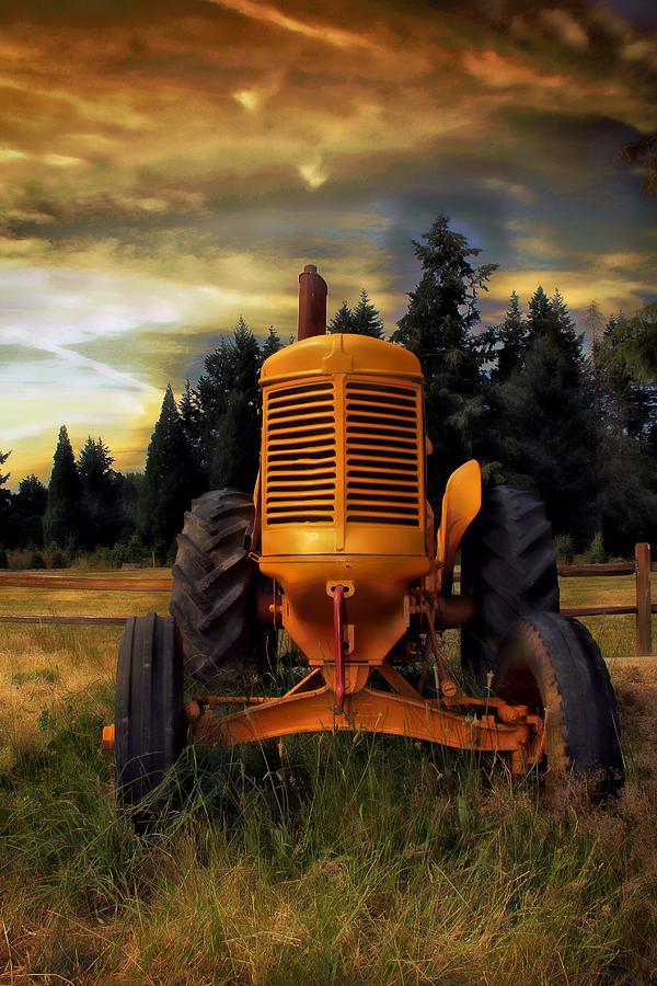 Farm On Photograph