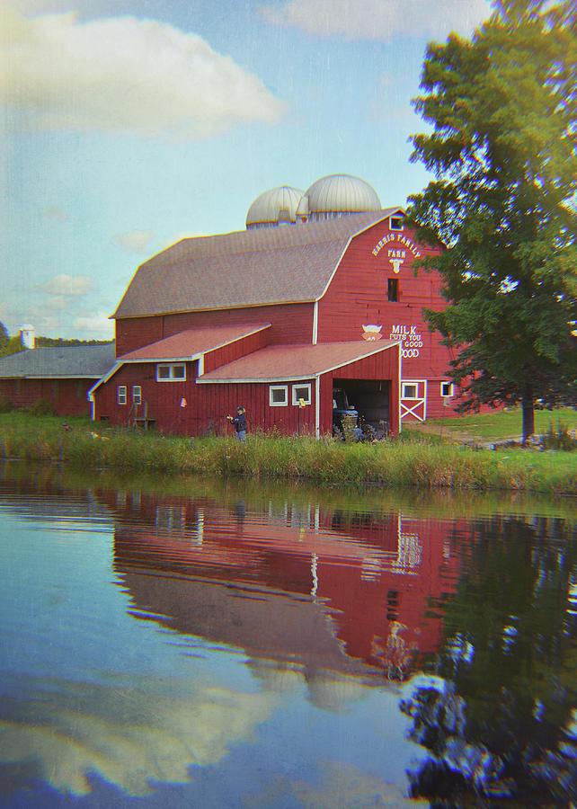 Barn Photograph - Farm Reflection by JAMART Photography