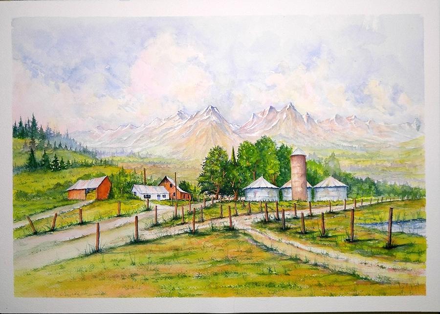 Farm Roads by Richard Benson