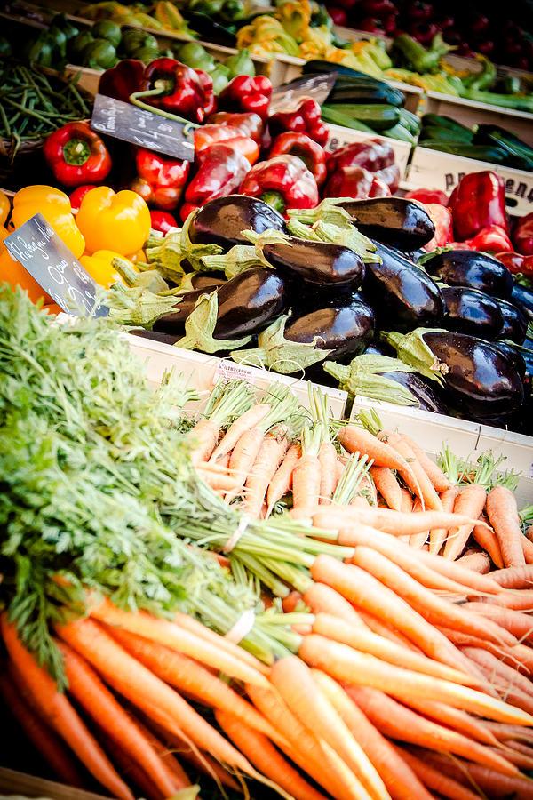 Europe Photograph - Farmers Market by Jason Smith
