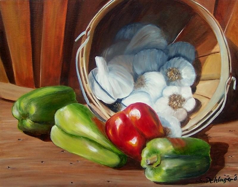 Farmers Market by Susan Dehlinger
