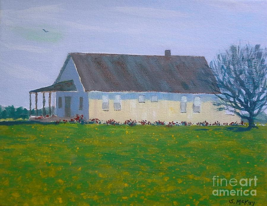 Farmhouse In Winlock Washington by Suzanne McKay