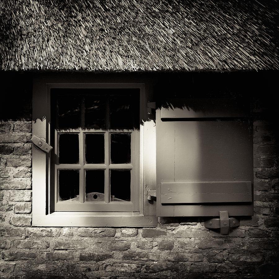 Dutch Photograph - Farmhouse Window by Dave Bowman